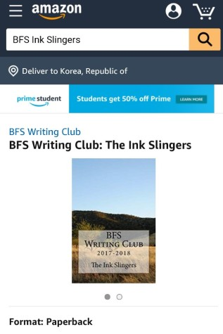 The Ink Slingers 2017-2018